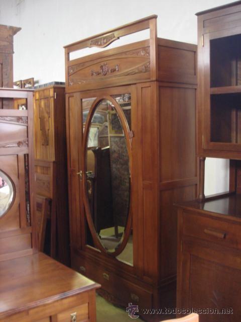 Las 25 mejores ideas sobre armarios de nogal en pinterest for Armarios de cocina antiguos