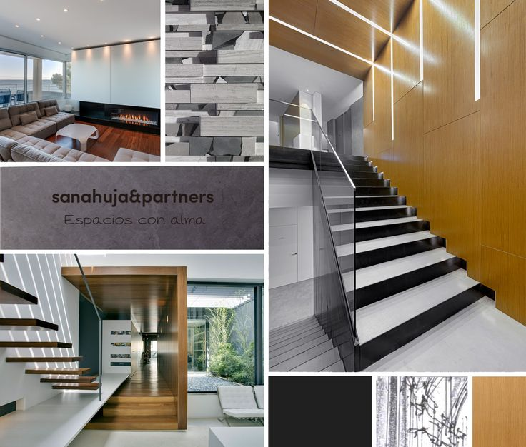 ↠ El #interiorismo by Sanahuja&Partners ↞ Concebir y diseñar #proyectos con alma  #arquitectura #MoodBoard