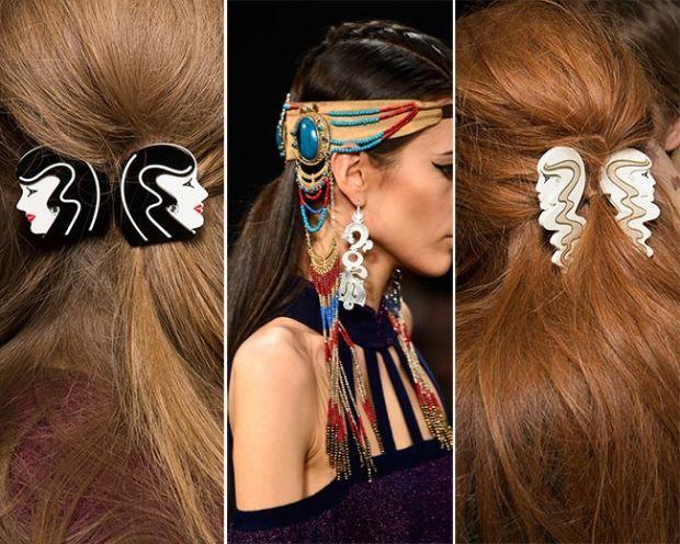 Аксессуары для волос: модные тенденции 2015-2016 годов