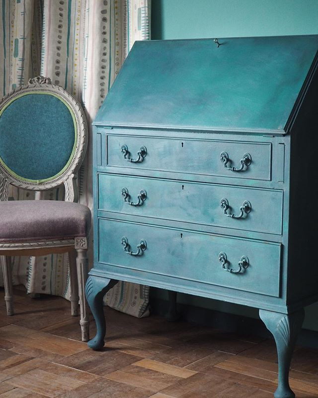 25 besten aubusson blue bilder auf pinterest bemalte m bel kreide farbe wachs und maltechniken. Black Bedroom Furniture Sets. Home Design Ideas