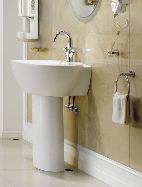Modern Bathroom Pedestal Sink Varazze Modern Bathroom