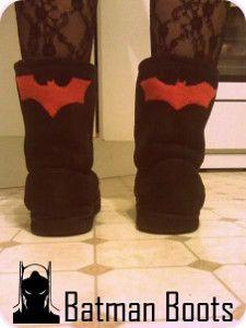 30 Minute Batman Boots   AllFreeSewing.com
