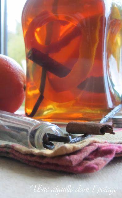 rhum arrangé, orange, cannelle, vanille, sucre de canne, rhum agricole
