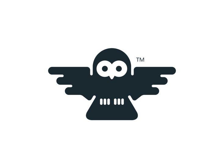 Owl Logo by Neil Burnell
