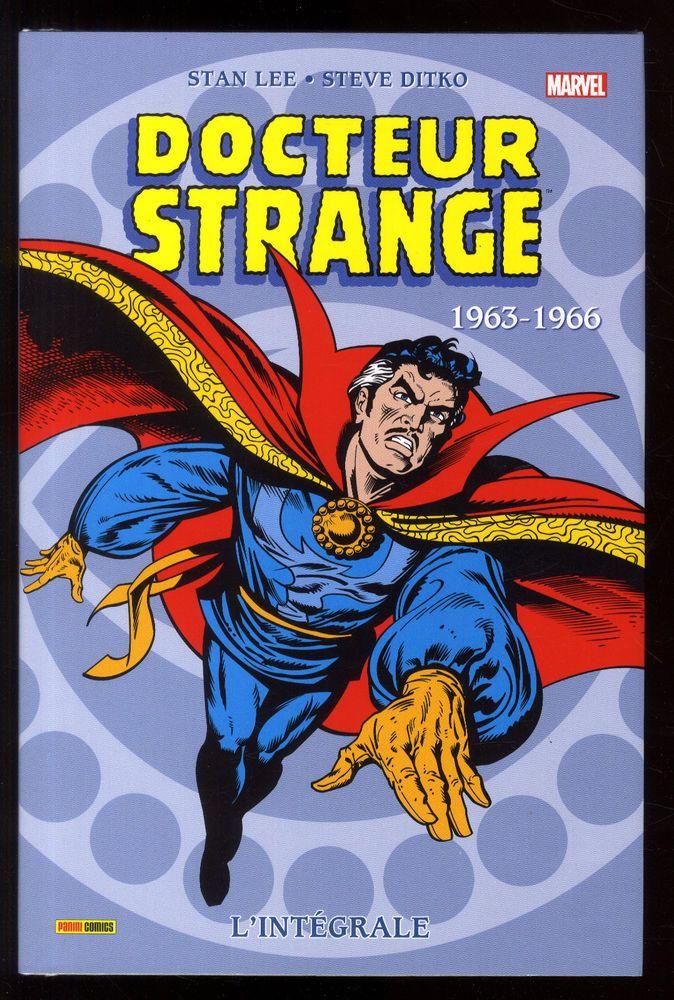 DOCTEUR STRANGE  L'Intégrale 1963-1966  Stan LEE / Steve DITKO  MARVEL EO 2016