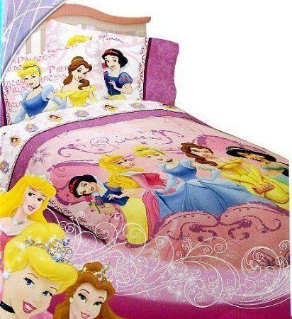 Disney princess twist of fate twin size comforter by disney fits a twin size bed twin - Twin size princess bed set ...