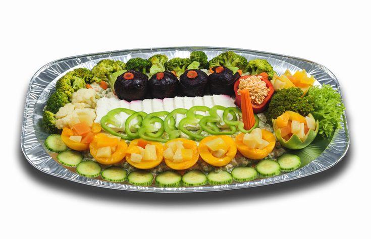 Vegetáriánus hidegtálak : Vega hidegtál
