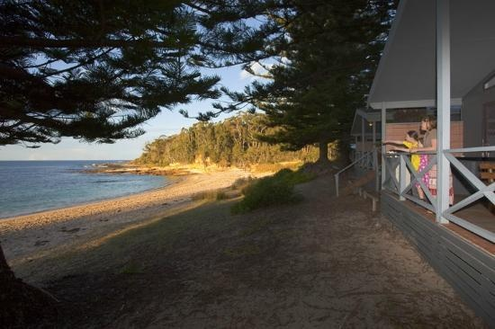 Murramarang Beachfront Nature Resort: Stayed here many years ago. Kangaroos right on the beach and the sound of the waves breaking on the shore. Just heaven.......