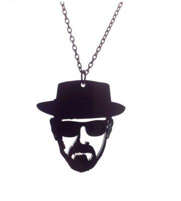 Heisenberg Necklace - Portrait Jewelry | Baronyka MISI Handmade Shop