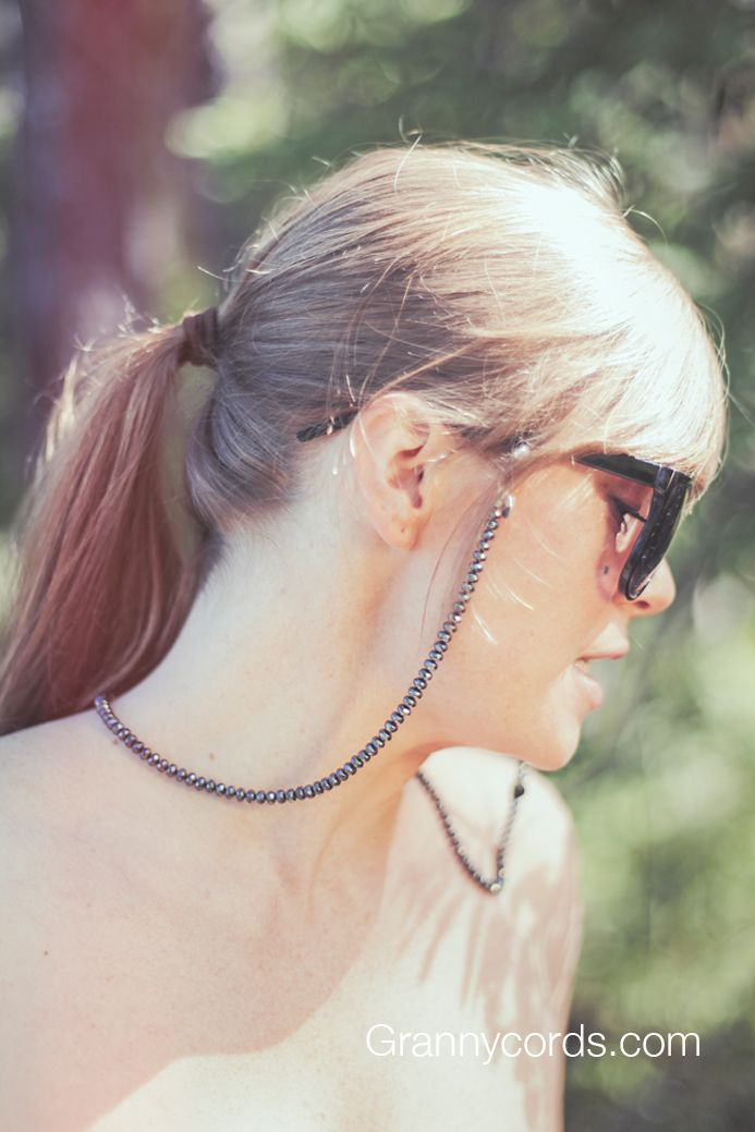 Turid wearing Fakir from our third collection - www.grannycords.com.