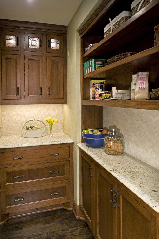 Shallow Base Cabinets Kitchen Traditional With Beige Custom Woodwork Glass