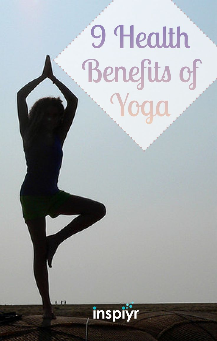9 Health Benefits Of Yoga by Inspiyr.com // Yoga's all the rage these days, but why? There are plenty of great reasons to give yoga a try--and many of them have to do with your health. Check out these nine surprising benefits! #Inspiyr