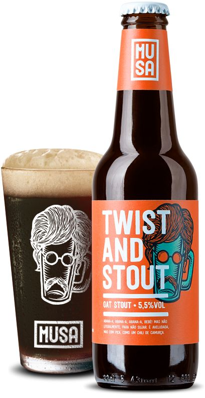 Musa Twist and Stout Come and see our new website at bakedcomfortfood.com!