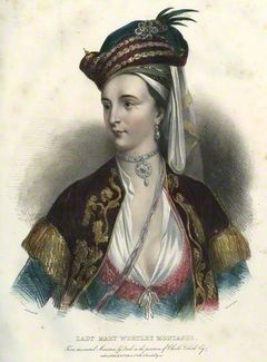 Lady Mary Wortley Montagu, she travelled through the orient, and brought innoculation back to Britain. She disowned her son, who went one step further.