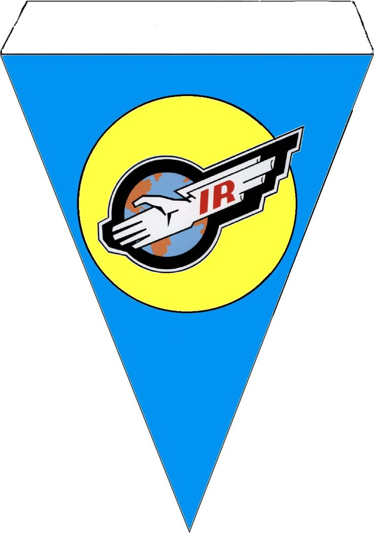 Thunderbirds Bunting - International Rescue