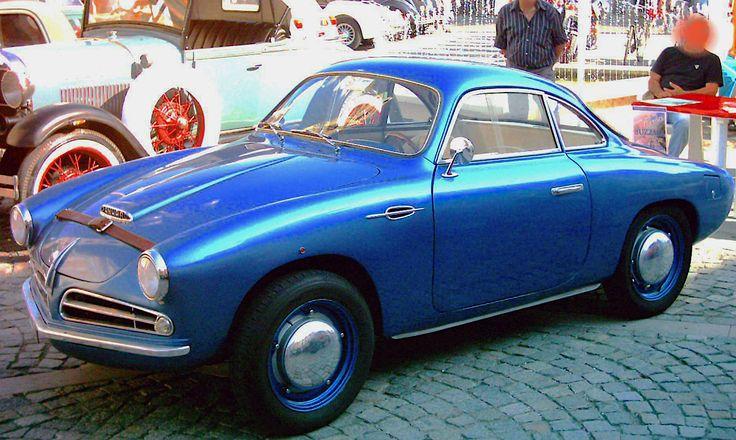 Allemano Crepaldi Panhard Dyna X86 Coupe 1951 Bilar