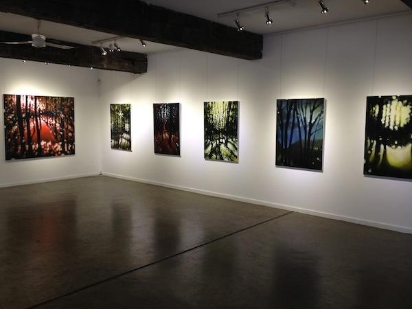 Iain Dawson Gallery ~ THREE SEASONS THREE PAINTERS Chris Bellamy, Michael Niccol, Leanne Thomas 18 June - 1 July 2012