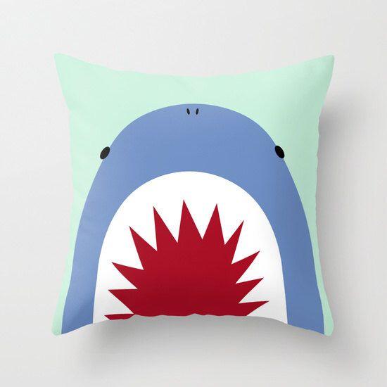Shark Pillow / Nursery Pillow / Nursery Kids / Shark Nursery By  ShopLittlePaws On Etsy Https