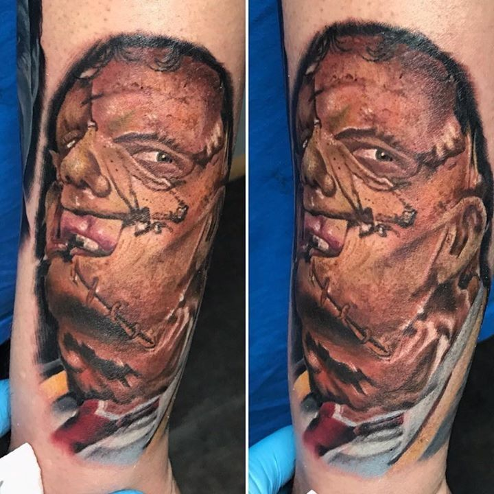 143 best horror tattoo images images on pinterest