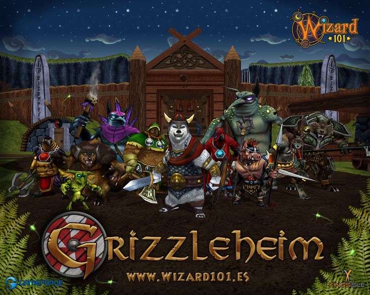 Wizard101 - Grizzleheim  Brings alive the Norse/Teutonic Myths, right down to the Norns!  A lot of people don't care for GH, but I loved it and I LOVE Wintertusk!  Best place to farm gold in all the Spiral!