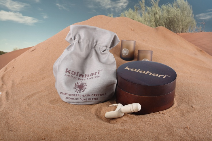 Harvested directly from the natural mineral rich salt pans of the Kalahari. The salt crystals are extremely high in natural minerals and infused with the delicate fragrance of the Aromatic Dune Blend. This Indulgent bath soak will increase your blood and lymphatic flow whilst facilitating the body's natural detoxification process.