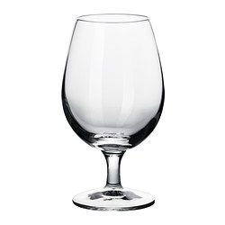 I kinda like the idea of goblets instead of glasses.  from ikea.