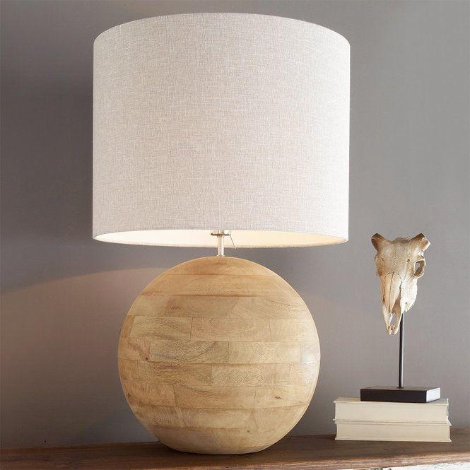 Cheyenne Teak Globe Table Lamp