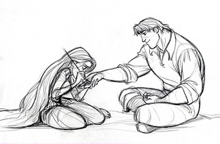 Tangled Concept art by Jin Kim- we could have had it allllllllll