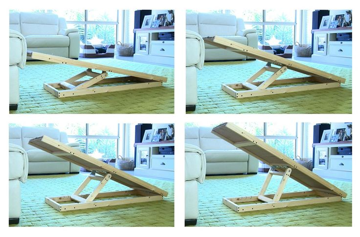 Pugs Central and Travelling Pooch have teamed up to create a unique dog ramp for your pug. Our portable dog ramp with adjustable heights is the perfect ramp to help aide and prevent injuries to your pooch.