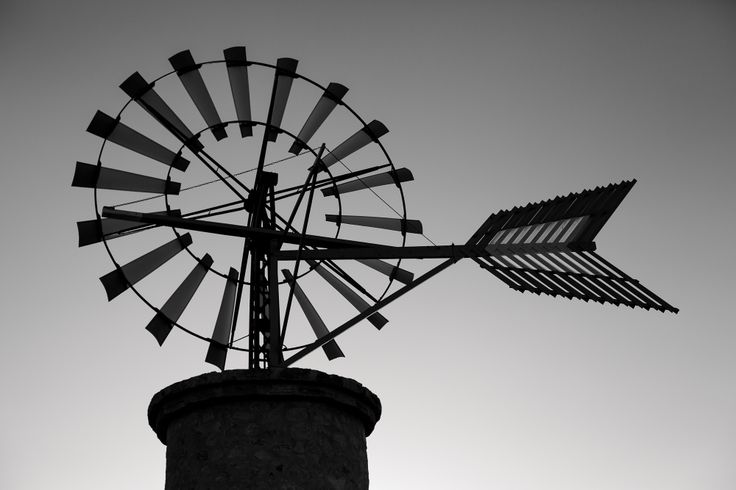 windmill near Cala d'Or, Mallorca  www.alexandra-gerrard.de/blog