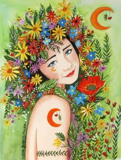Beltane is a Magikal time of fertility and growth and union. Sing, Dance, LOVE, Sunshine Rainbows and Many Blessings Peoples