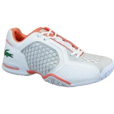 Women's Lacoste Repel 2 7-23SPW10581U2 White Orange Tennis Sneakers (Women's 6.5, White Orange) $114.99: Tennis Sneakers, Orange Tennis, Sneakers Women'S, Women'S Lacoste, Lacoste Repellent, Women'S Apparel, White Orange, Sneakers Woman, 7 23Spw10581U2 White