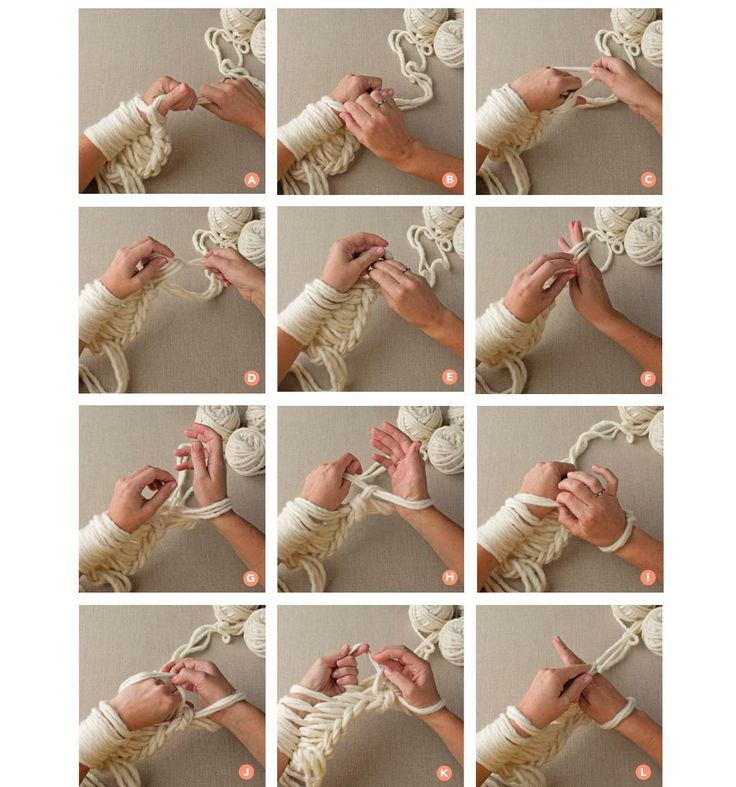 #ClippedOnIssuu from Anne Weil's Arm Knitting Tutorial for Sweet Paul