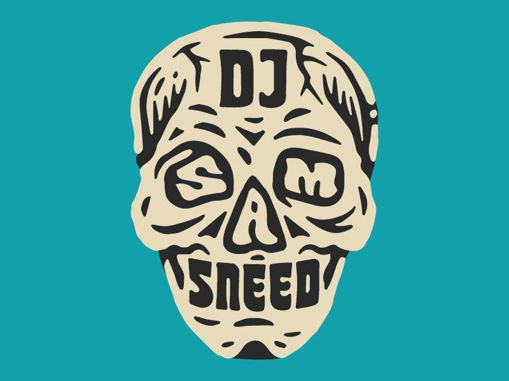 Sam Sneed Skull 2017 by Alana Louise