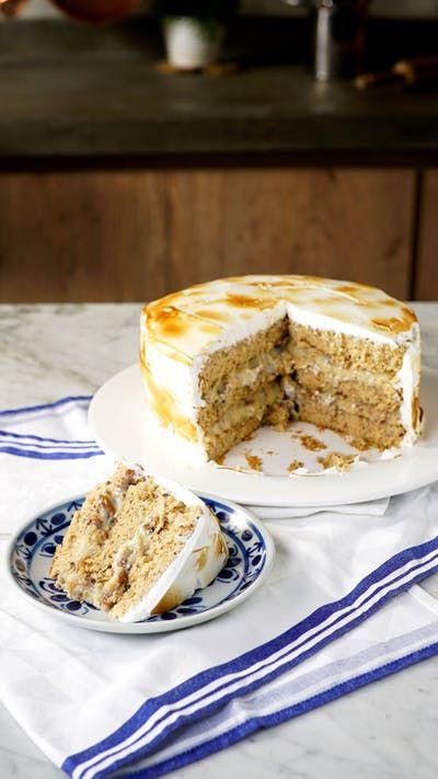 Esse bolo é perfeito para você que é apaixonado por nozes!