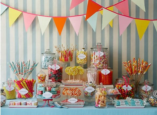 candy bars | 30 of the Best Candy/ Sweet Bar Party Ideas