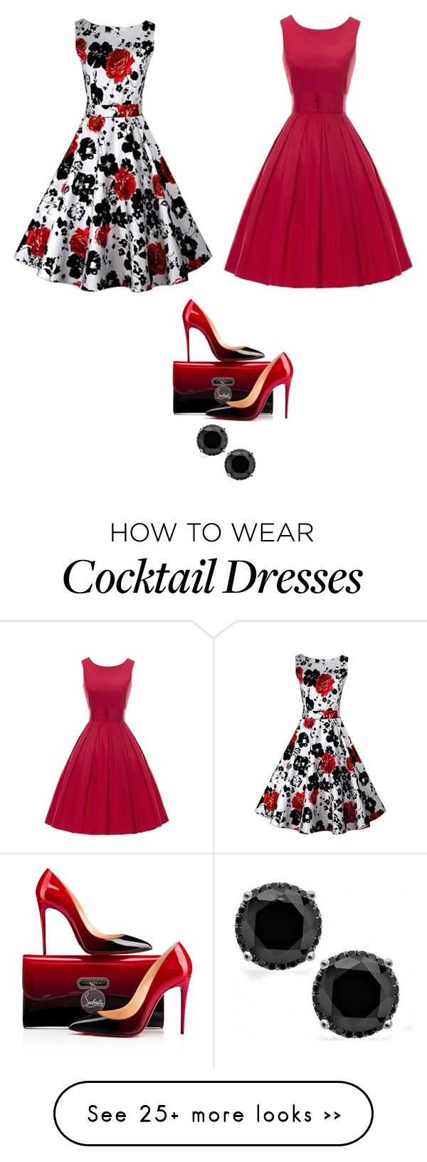 """""""Untitled #2848"""" by bbossboo on Polyvore featuring Mode und Christian Louboutin"""