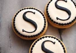 black and white decorated cookies - Bing Images