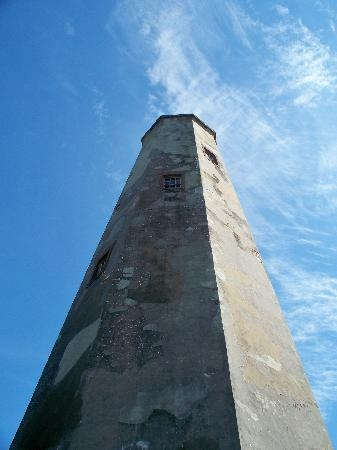 """Bald Head Island NC - One of my favorite places to go.  Love """"Old Baldy"""" the lighthouse."""