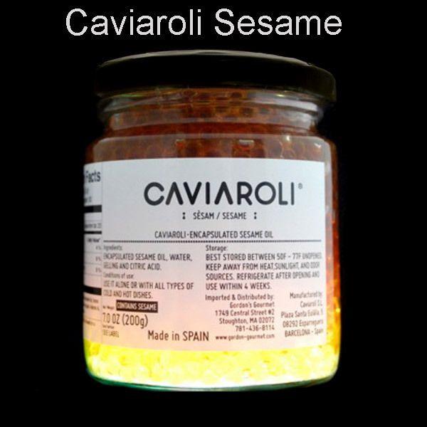 Caviaroli Sesame Oil Caviar, 200 g - MolecularRecipes.com Store
