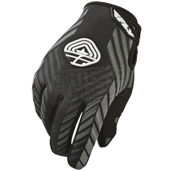 2015 Fly Racing 907 Cold Weather Gloves - Black Grey