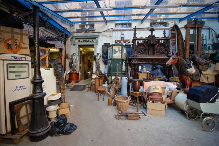 Welcome to one of the Last Cinema Prop Houses in Paris