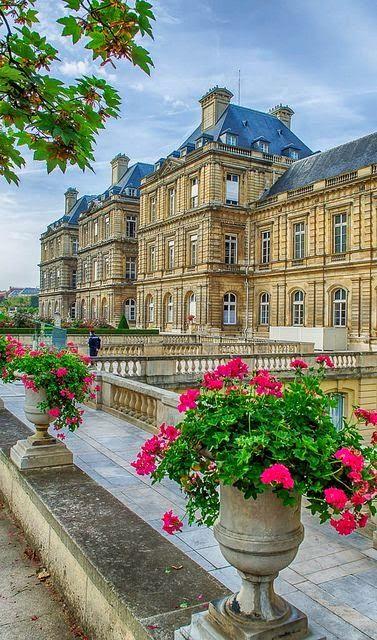 Le palais du Luxembourg, Paris (France) - El palacio de Luxemburgo, París (Francia)