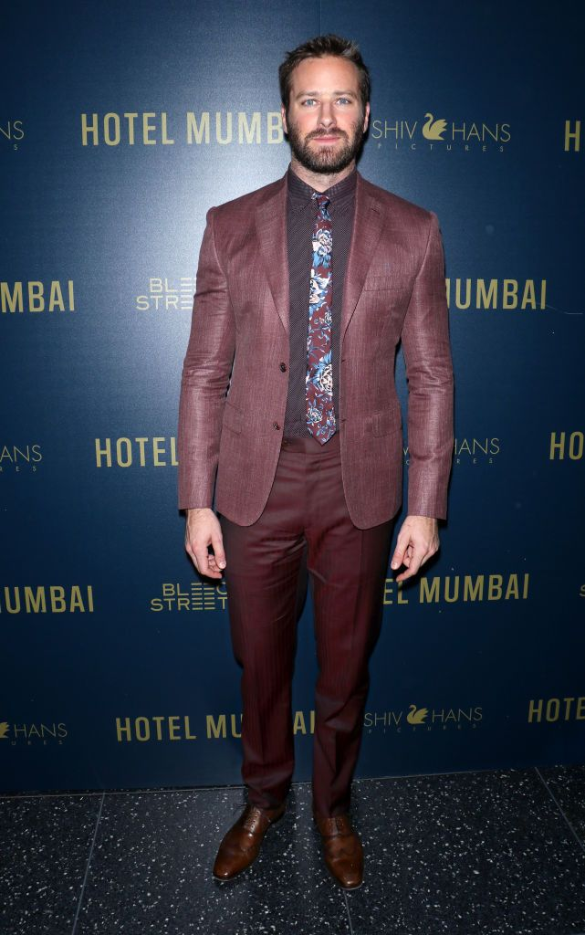 Actor Armie Hammer Attends The Hotel Mumbai New York Screening