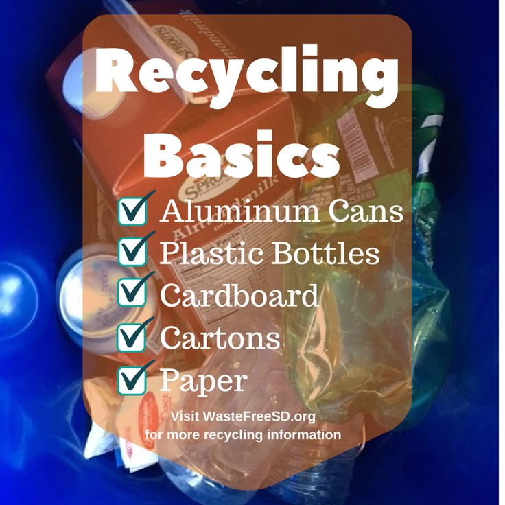 All set on the recycling basics? Take your recycling knowledge to the next level, search over 300 recyclable items on WasteFreeSD.org