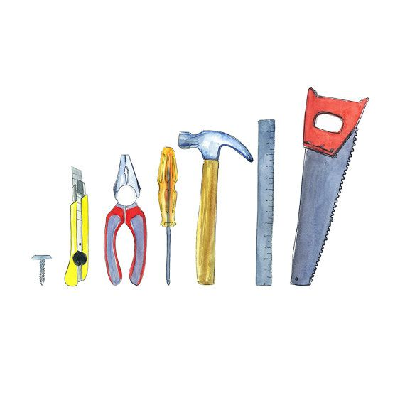 Tools Clipart Tools Kit Instant Download Construction Tool