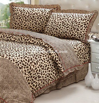 Leopard Printing Cheetah Print Bedding Sets [101201000005] - $109.99 : Colorful Mart, All for Enjoyment