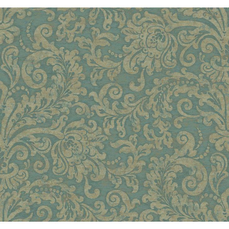 """Williamsburg II 27' x 27"""" Albemarle Damask Texture"""
