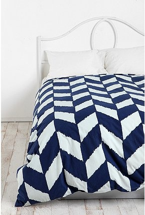 EUrban Outfitters, Herringbone Duvet, Guest Bedrooms, Beds Spreads, Guest Beds, Chevron Pattern, Duvet Covers, Herringbone Pattern, New Bedrooms