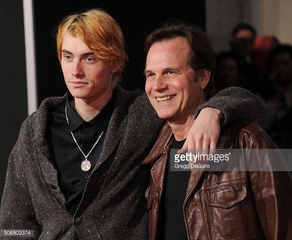 bill paxton   Actor Bill Paxton and son James Paxton arrive at the premiere of ...